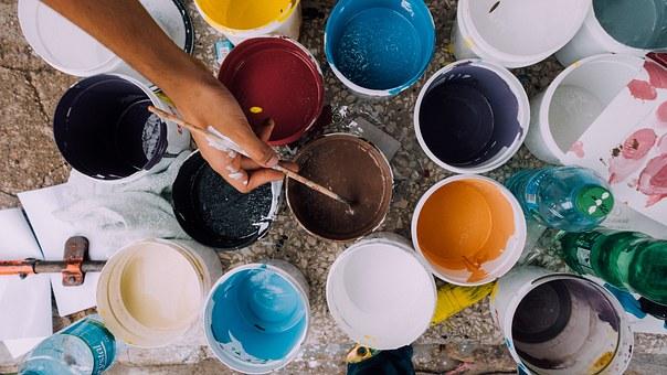 Photo | Pots de peinture