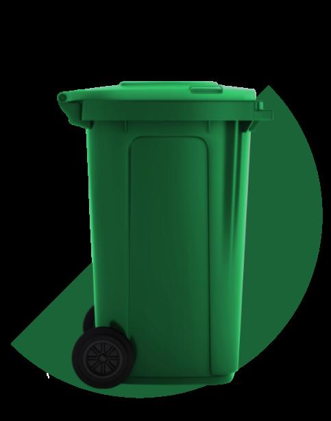 Illustration | Background | Bac à déchets