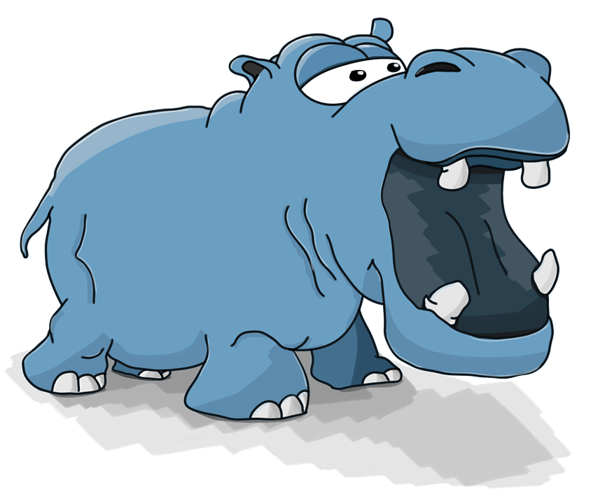 Illustration | Hippopotame