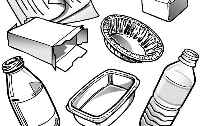 Illustration | Différents déchets